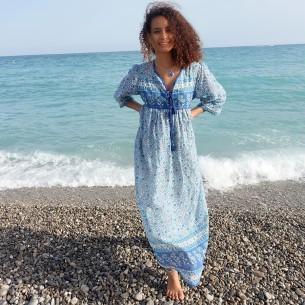 Robe bohémienne Capri