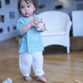 pantalon bébé garçon blanc