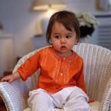 tunique indienne bebe