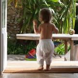 Sarouel bébé garçon blanc