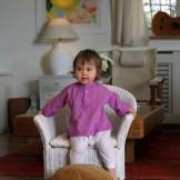 vetement bebe ethnique rose