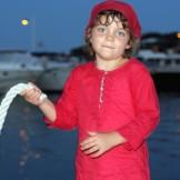 tunique enfant rouge
