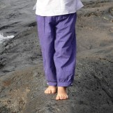 Pantalon enfant bleu foncé