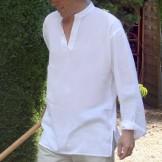 tunique blanche