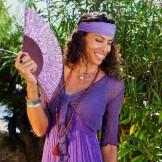 Boléro femme violet