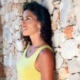 Robe longue sport femme vert anis