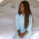 Tunique turquoise clair