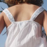 Robe blanche enfant