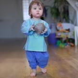 pantalon bebe indigo