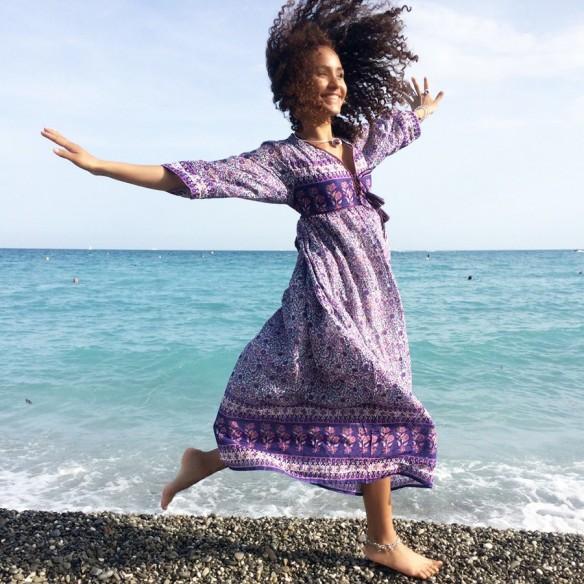 Long dress India - WOMEN - Tortue de Mer