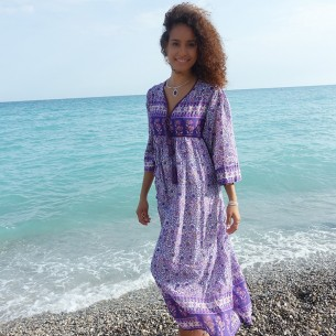 Long dress India - WOMEN - Tortue de Mer