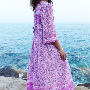 Gipsy dress Woodstock - WOMEN - Tortue de Mer