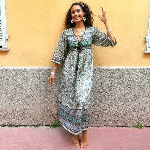 Bohemian dress Ibiza - WOMEN - Tortue de Mer