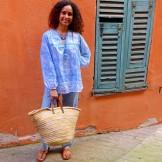 Tunique Goa bleu