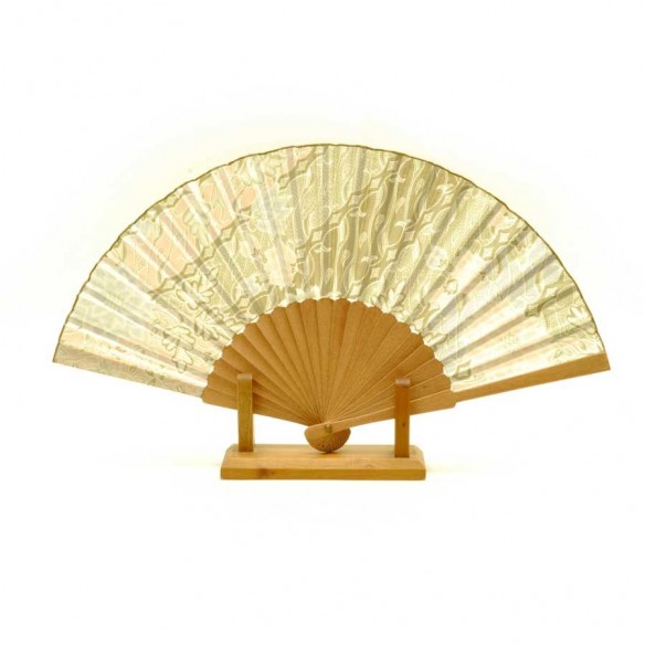 Eventail soie Brazil - SILK FAN -