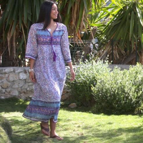 Robe hippie Coachella - LONG BOHEMIAN DRESSES - Tortue de Mer