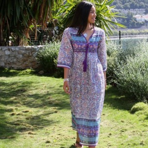 Robe hippie Coachella - LONG BOHEMIAN DRESSES - Tortue de Mer