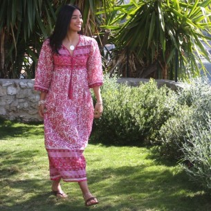 Robe longue Tulum - LONG BOHEMIAN DRESSES - Tortue de Mer