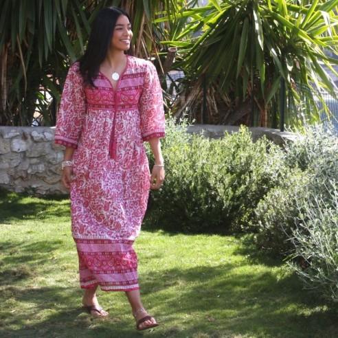 Robe longue Tulum - LONG BOHEMIAN DRESSES - Tortue de Mer