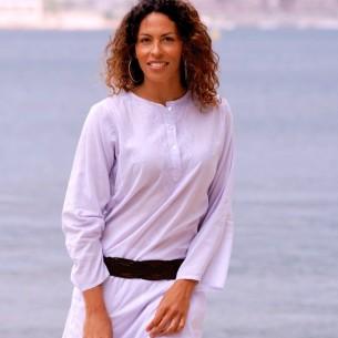 Tunique indienne lavande - Bohemian tunics - Tortue de Mer