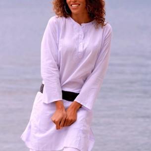 Tunique indienne lavande - Tuniques indiennes - Tortue de Mer