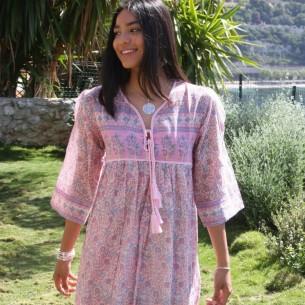 Robe hippie Amala - LONG BOHEMIAN DRESSES - Tortue de Mer