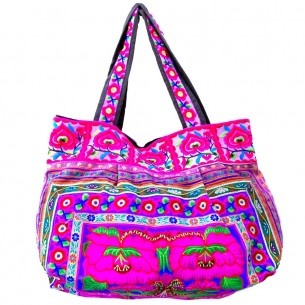 Sac ethnique tribal - EMBROIDERED BAGS - Tortue de Mer
