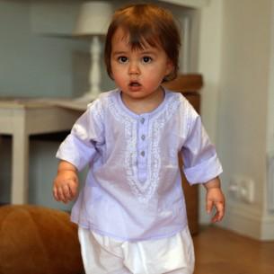 Baby lavander summer kaftan