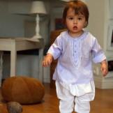 vetement bebe ethnique lila
