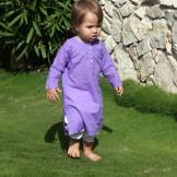 Tunique bébé fille violet