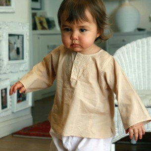 Tunique bébé garçon beige