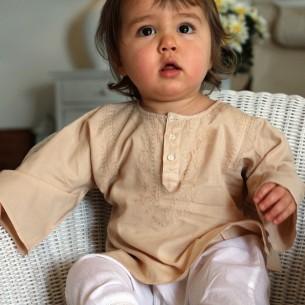tunique été beige