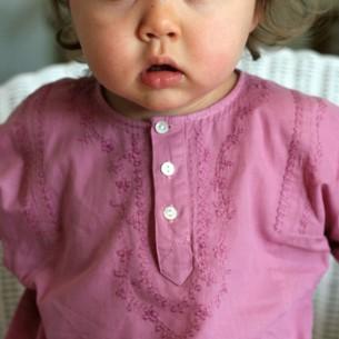vetement bebe rose