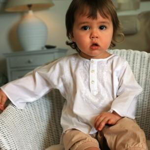 Tunique coton pour bébé