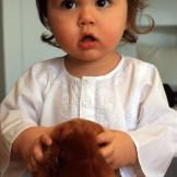 Tunique bébé blanche