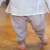 pantalon sarouel bébé