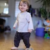 Sarouel bébé garçon marron