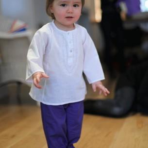 pantalon bébé garçon bleu foncé