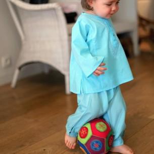 pantalon bebe coton