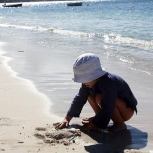 Tunique enfant broderies fleurs - TUNIQUES - Tortue de Mer