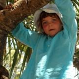 Tunique fille turquoise