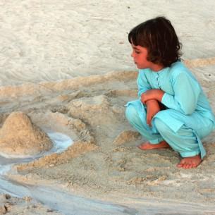 tunique turquoise enfant