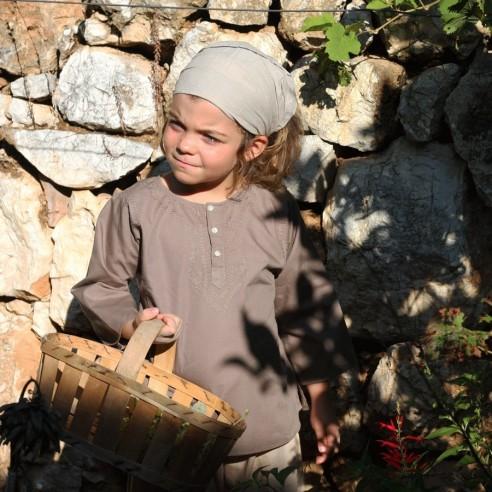 Tunique enfant marron