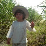 tunique enfant brodée