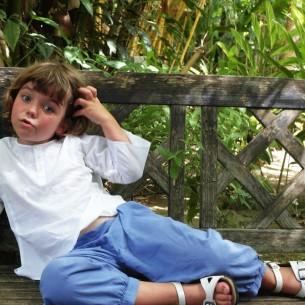 Cotton trousers - KIDS & TEENS - Tortue de Mer