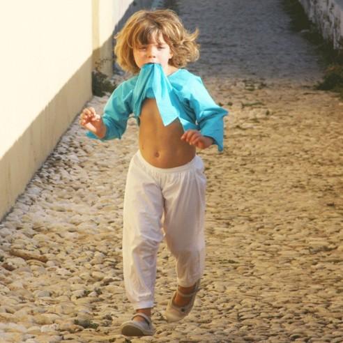 f0be8478e5fb9 Sarouel enfant en coton