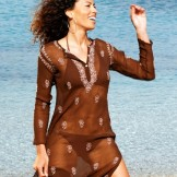 robe soie été