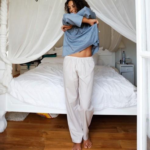 Cotton voile trousers - SAROUELS & TROUSERS - Tortue de Mer