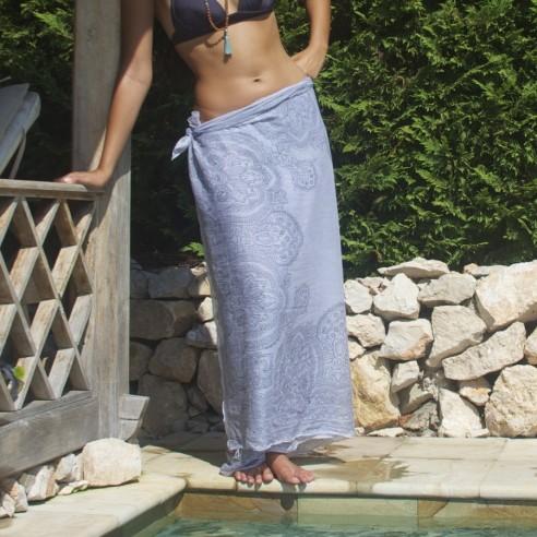 Gray sarong