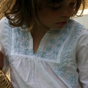 tunique brodée enfant